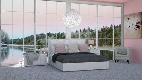 pink n cream - Bedroom  - by LaylaaaarrrJF