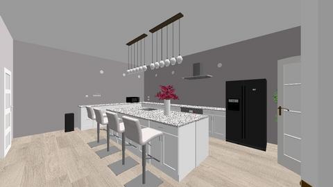 keuken demy en amber - Kitchen  - by amingie2