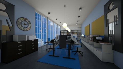 long office - Modern - Office  - by kla