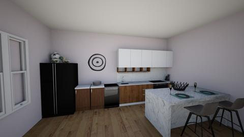Kitchen BluePrint1 - Modern - Kitchen  - by MarisaG