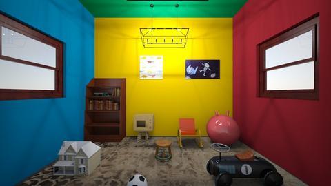 playroom - Kids room  - by OferneH