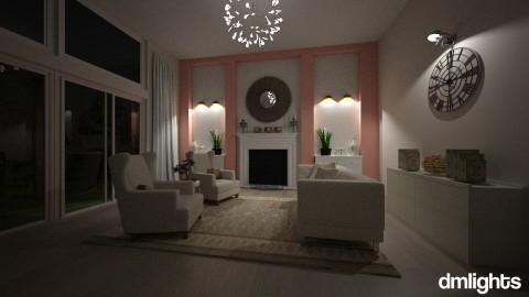 Feminine Living Space - Modern - Living room - by DMLights-user-1383470