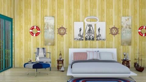 Sailor Style  - Rustic - Bedroom  - by InteriorDesigner111