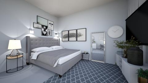 anastazias bedroom - Bedroom  - by anastazia06
