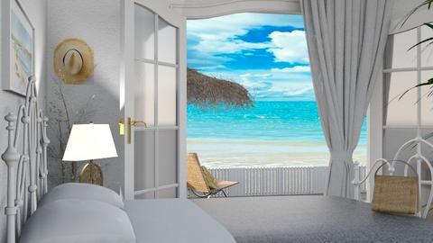 Coastal bedroom - by Maryjo1965