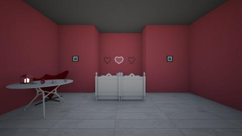 carnival hearts  - Bedroom  - by AATHEDANCER