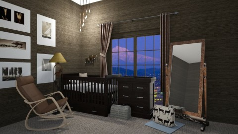 baby place - Kids room  - by elle rose