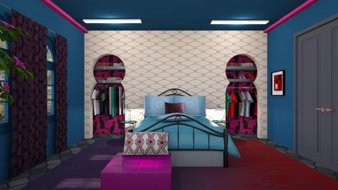 Jewel colours - Bedroom  - by augustmoon