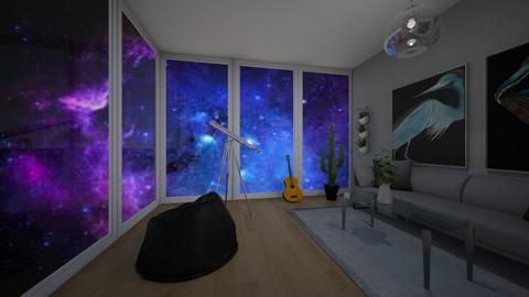Stargazing Contest - Living room  - by Chrispow0105