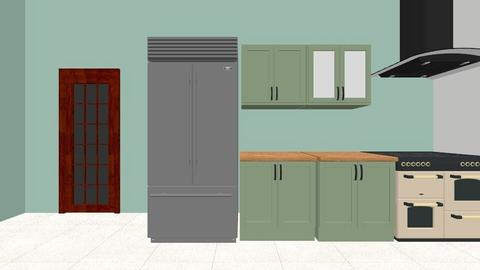 kitchen idea - Retro - Kitchen  - by Ahoylaura
