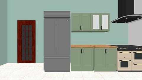 kitchen idea - Retro - Kitchen  - by Ahoylaura