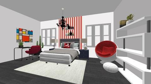 My Bedroom - Bedroom  - by LoveenDardi
