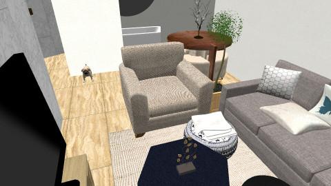 Beachy Bedroom - Modern - Bedroom - by Logan Hungerford