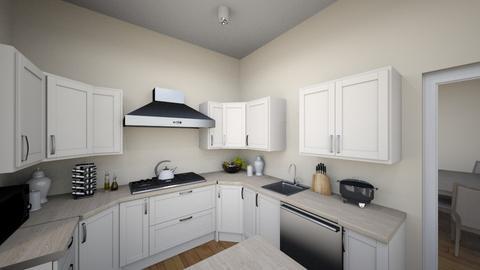 Chabad House Kitchen  - Kitchen - by PandaGraciosa