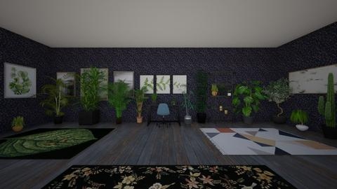 Plant Room - Rustic - Bedroom  - by Mm_