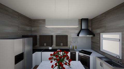 dream kitchen - Modern - Kitchen  - by ismael12345678