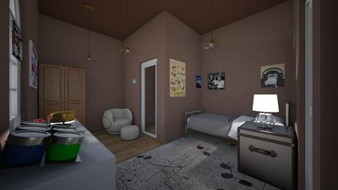 Coachcs room on Argo 2 - Bedroom  - by pipermclean