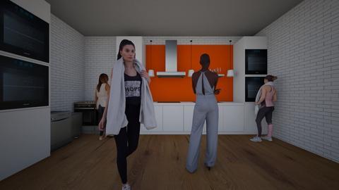 Jazzies P7 Kitchen - Kitchen  - by ibdesignclass