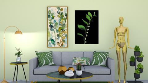 green life  - Modern - Living room - by rimanina