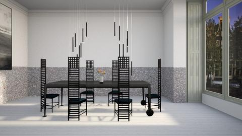 Quiet Home - Minimal - Dining room  - by kitty