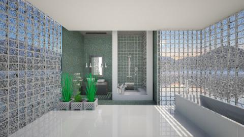 meditation - Classic - Bathroom  - by Sara alwhatever