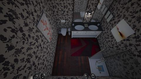 Bathroom Challenge - Bathroom  - by lyllian codd