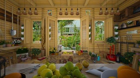 Design 174 Allotment Weekend - Living room  - by Daisy320