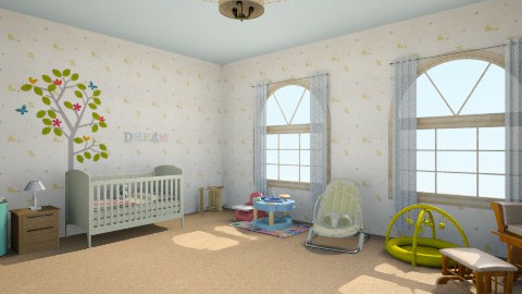 room for baby - Classic - Kids room  - by HoneyBunches171