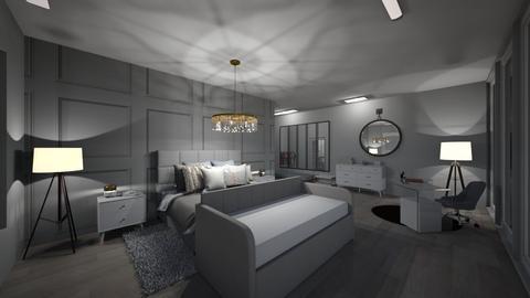 my room - Feminine - Bedroom  - by becaaa