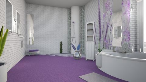 Lavender Bath - by Rose_Design