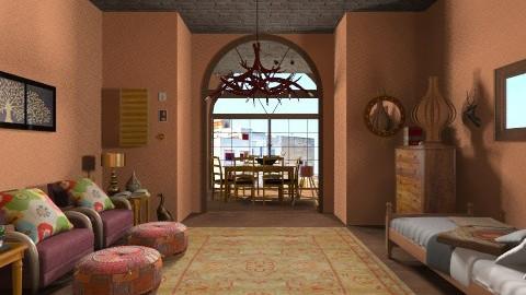 Dreams of Italian Summer - Kids room  - by Kristi McDaniel