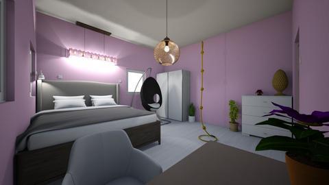 modrern bedroom - Bedroom  - by Jedrek_123
