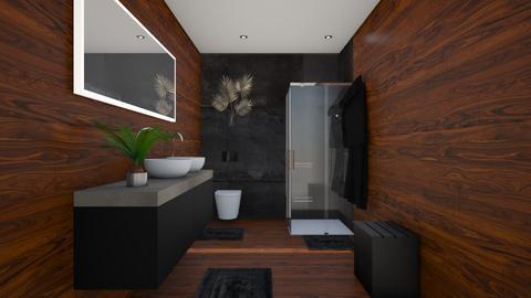Small n sleek - Bathroom  - by disa