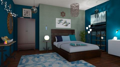 Hidden Cove - Bedroom  - by eggaroni