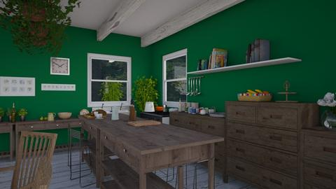 In my dream 1 - Country - Kitchen  - by CaterinaBoccato