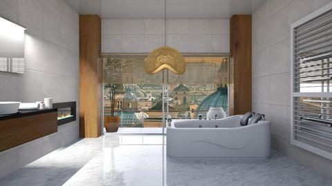 Minimal bath - Modern - Bathroom  - by augustmoon