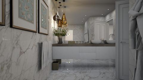 Linden Bathroom 1 - Modern - Bathroom  - by Claudia Correia