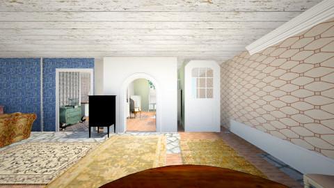 rustic - Rustic - Bedroom  - by Elizabeth Lincoln