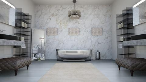 Natural Toned Luxury Bath - Bathroom  - by FloridaDiva
