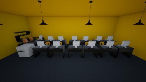 sala laboratorio v2 - Office - by Terzz13