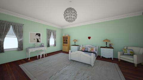 Bedroom - by AmelieDoughty