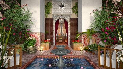 Design 514 Moroccan RIAD - Garden  - by Daisy320
