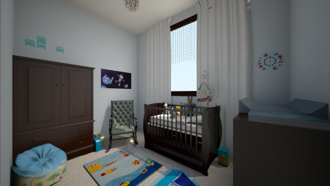 boy  - Kids room  - by Karen Priest