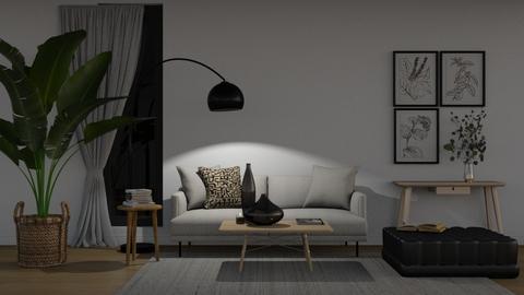 minimalist - Living room  - by khadouja12