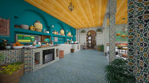 Moroccan Kitchen - Kitchen  - by Tuubz