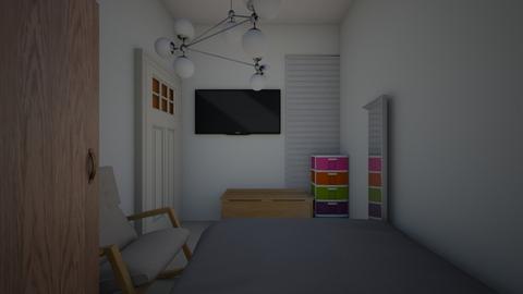 new room - Bedroom  - by sumairshrff