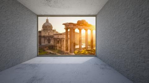 rome - by alina shrayner