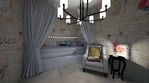 Vintage Bedroom - Vintage - Bedroom  - by ZolaKate