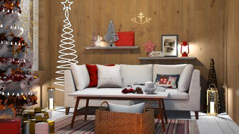 Christmas wall - Living room  - by RonRon