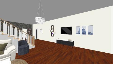 neona house - Living room  - by himeko kei